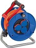 Brennenstuhl Garant IP44 Kabeltrommel (25m - Spezialkunststoff, Einsatz im Außenbereich und rund...