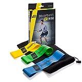 Powerbands Erwachsene Set Mini Gymnastikband, Bunt, One Size