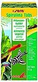 Sera 00920 Spirulina Tabs 24 Tabletten - Pflanzenfutter aus Hafttabletten mit hohem Spirulina-Anteil...