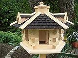 Vogelhaus Vogelhäuser(V31) Vogelfutterhaus Vogelhäuschen-aus Holz-DHL-Schreinerarbeit-Gaube...