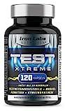 Test Xtreme: Testosteron Booster – Muskelwachstum & Stärke (120 Kapseln)