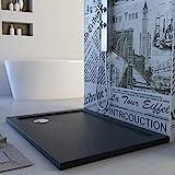 Duschwanne 100x70x4 Acryl Rechteckig Mod. Solid UltraSlim