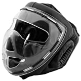 Bad Company I Full Face Kopfschutz I Helm mit transparentem Visier I Gr. XL