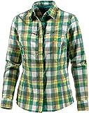 OCK Damen Hemd Bluse lang Funktions, Grün, 40, 203339