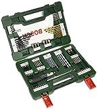 Bosch 2607017195 V-Line Box (mit 91 Bohr-/Schraubwerkzeugen)