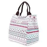 AMDUDU Picknick-Taschen AMDUDU Picnic Cool Bag Lunch-Tasche mit kalt / warm Isolierung für Frauen...