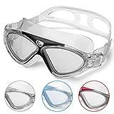 Schwimmbrille Erwachsene Anti Fog Ohne Leakage deutlich Anblick UV Schutz Einfach zu anpassen, Profe...