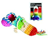 Rainbow knitted Willy Warmer funny/rude joke, ideal for Hen nights by WW Global