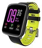 YAMAY Smartwatch Wasserdicht IP68 Smart Watch Uhr mit Pulsmesser Fitness Tracker Sport Uhr Fitness...