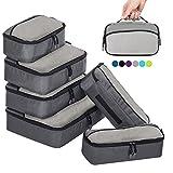ZOMAKE Packing Cubes Packwürfel Set,Kleidertaschen Packtaschen 6-teiliges,ltra-leichte koffer...