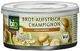 biozentrale Brotaufstrich Champignon, 3er Pack (3 x 125 g)