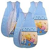 Baby Schlafsack Winnie Pooh Babyschlafsack Kinderschlafsack Vierjahreszeiten (80/86)