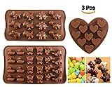 Schokoladenformen - Joyoldelf Silikon Süßigkeiten Gelee Süßigkeiten Formen mit niedlichen Tieren...