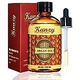 KANZY - Arganöl - 100% rein - 120 ml - Argan Oil - Pipette - für Haut, Augen, Haare & Nägel -...