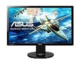 Asus VG248QE 61 cm (24 Zoll) Monitor (FullHD, DVI, HDMI, DisplayPort, 1ms Reaktionszeit) schwarz
