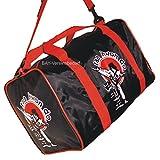 BAY Sporttasche Taekwondo Tae Kwon Do, Taekwon Do, Trainingstasche, Tasche, schwarz/rot, 50 cm