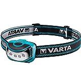 Varta 4x 5 mm LED Outdoor Sports Head Light ( inkl. 3x High Energy AAA Batterien Kopfleuchte...