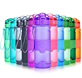 Grsta Sport Trinkflasche, 700ml/24oz - BPA frei Tritan Kunststoff Wasserflasche, Auslaufsicher...