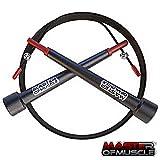 Speed Rope Springseil – High Speed Seil, Perfekt Für Double Unders – Optimal Für Crossfit -...