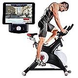 Sportstech Profi Indoor Cycle SX500 mit Smartphone App Steuerung + Google Street View, 25KG...
