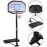 COSTWAY Basketballständer Basketballkorb mit Ständer Basketballanlage Korbanlage höhenverstellbar...