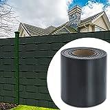 HG® 65mx19cm Sichtschutzstreifen Stabmattenzaun Folie UV-bestädig Doppelseitige Beschichtung für...