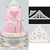 ODN 2tlg Krone Backen Party Fondant Form Tortendeko Keks Sugarcraft Modellierwerkzeug Set