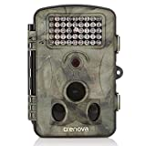 Crenova 12MP 1080P HD Wildkamera 120° Breite Vision Infrarote 20m Nachtsicht 2.4' LCD Jagd Kamera...