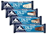 Multipower 53% Protein Bar – 24 x 50 g Proteinriegel Mix Box (1,2 kg) – 27 Gramm Protein pro...
