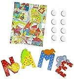 6 Sevi Holzbuchstaben Tiere für Wunschname inkl Geschenkverpackung Türbuchstaben Kinderbuchstaben...