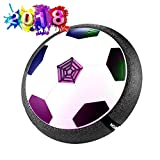 Hover Ball Air Power Fußball Indoor Fußball mit LED Beleuchtung Fußball Spielzeug Boys Mädchen...