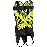 adidas Ghost Reflex Schienbeinschoner, Solar Yellow/Core Black/Iron Metallic, L