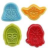 Moncolis Fondant Ausstecher Star Wars Ausstechformen Plätzchenformen Backformen Keks Cookie Cutters...