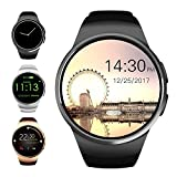 Evershop Bluetooth Smart Watch 1,5 inches IPS Round Touch Screen Smartwatch Phone with SIM Card and...