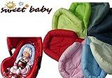 Sweet Baby ** ROT ** SOFTY Sitzverkleinerer / NeugeborenenEinsatz für BabyAutositz Gr. 0/0+ wie...