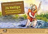 24 Heilige und Schutzpatrone für unsere Jahreskrippe: Bildkarten für unser Erzähltheater....