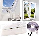 Sichler Haushaltsgeräte Hotairstop: Abluft Fensterabdichtung für mobile Klimageräte, Hot Air Stop...