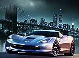 VLIES Fototapete MANHATTAN CAR I -(413v)-350x260 cm in 7 BAHNEN 50 cm B.x260 cm H. -Digitaldruck!...