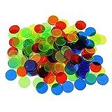 Yalatan Bingo Chips gesetzt Spielzeug, Transparente Farbe Lernen Zählen Spielzeug, Kunststoff Math...