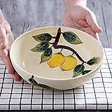 Japanische Art kreative handgemalte Keramik Schüssel Persönlichkeit große Ramen Schüssel 7,8...