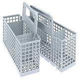 spares2go Besteck Korb Käfig für Kaminöfen Geschirrspüler (6/3fach abnehmbarer)