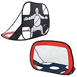 Virhuck 2 in 1 Tragbare und Faltbare Pop Up Fußballtor, Geschenke für Kinder,Indoor und Outdoor...