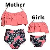 iClosam Bikini Badeanzug Set Familie Passenden Mutter Mädchen Bademode Hohe Taille Badeanzug...