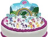 Cakeshop Vorgeschnittene und Essbare My Little Pony Szene Kuchen Topper (Tortenaufleger, Bedruckte...