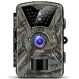 [Upgraded] Victure Wildkamera Fotofalle 1080P Full HD 12MP Jagdkamera Weitwinkel Vision Infrarote...