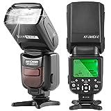 K&F Concept® E-TTL KF590C Blitz Blitzlicht Canon Speedlite Blitzgerät für Canon Kamera Leitzahl...