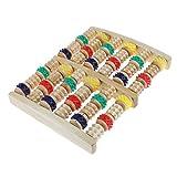 Sharplace Fußroller aus Holz, 2 x 6 Fussmassage Rollen