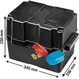 Batteriekasten mit Befestigungsgurt 340 x 230 x 250 mm /für Batterien 280 x 195 x 230 mm +...