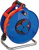 Brennenstuhl Garant IP44 Kabeltrommel (40m - Spezialkunststoff, Einsatz im Außenbereich und rund...