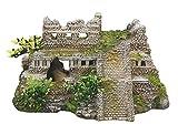 Nobby 28190 Aquarium Dekoration Aqua Ornaments Maya Ruine mit Pflanzen L-21.7 x B-14.7 x H-11.7 cm